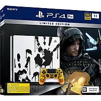 Стаціонарна ігрова приставка Sony PlayStation 4 Pro 1 TB Black + Death Stranding Limited Edition