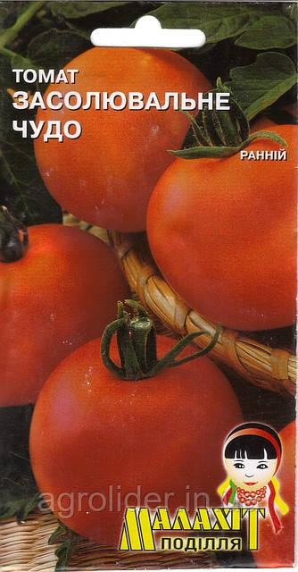 Семена томат Засолочное чудо 0.1г Красный (Малахiт Подiлля)