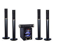 Комплект акустики 5.1 DJACK DJ-J5L 120W (USB/FM-радио/Bluetooth)