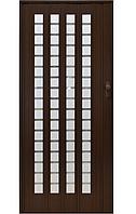 Раздвижная дверь из ПВХ 015 B1(темно-коричневый)