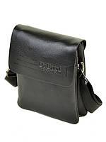 Мужская барсетка (сумка-планшет) DR. BOND 208-0 black, фото 1