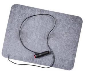 Электрогрелка для авто ТРИО, 120х60 см, серая