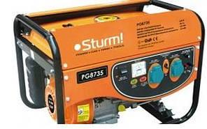 Генератор бензиновый PG8735E Sturm