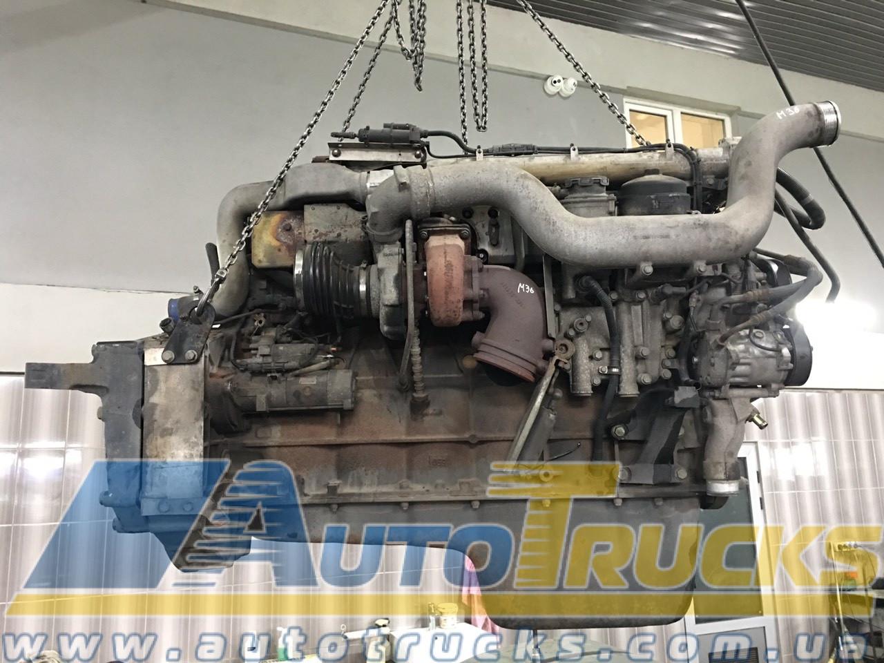 Двигатель D2066 LF12 Б/у для MAN TGA (50512220461222)