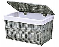 Плетеная корзина 46x76x46 см - 160 л