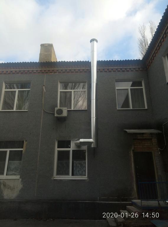 Система витяжної вентиляції кухні КЗДНЗ «РАКЕТА» м. Тернівка
