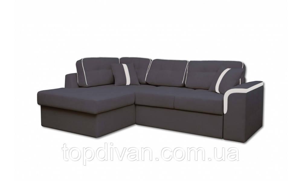 """Кутовий диван """"Мілан"""" тканина 97 (ширина спального 155 см)"""