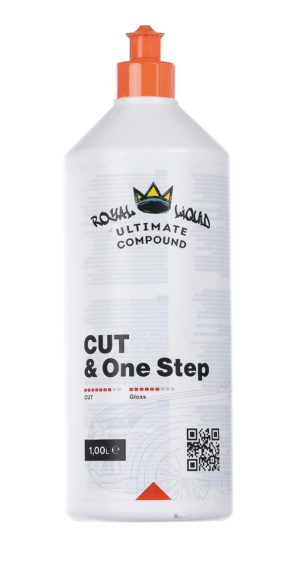 Одношаговая полировальная паста Royal Pads Cut & One Step