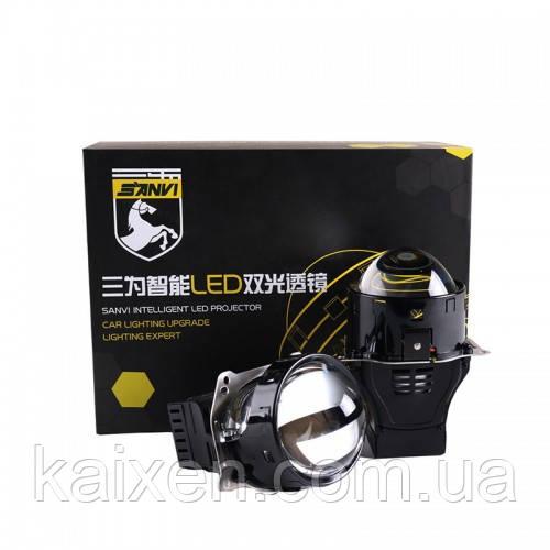 ЛИНЗЫ BI-LED SANVI A8 45W 3 дюйма с двумя отражателями!