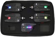 Вологозахищений набір сигналізаторів покльовки world4carp wc310 2+1 QR4, фото 2
