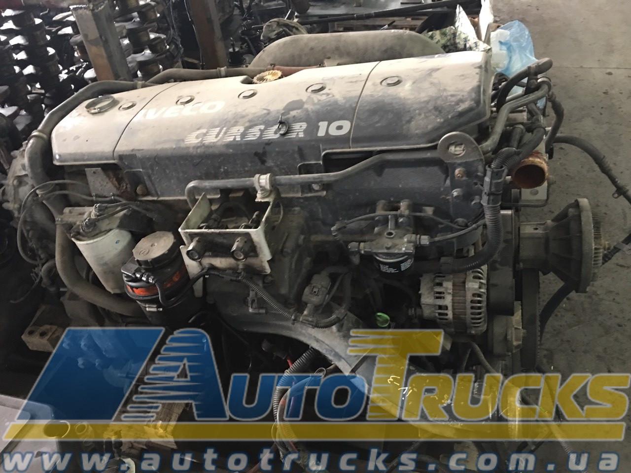 Двигатель CURSOR 10 Б/у для IVECO Stralis (504204559; 2996291; 2996292)