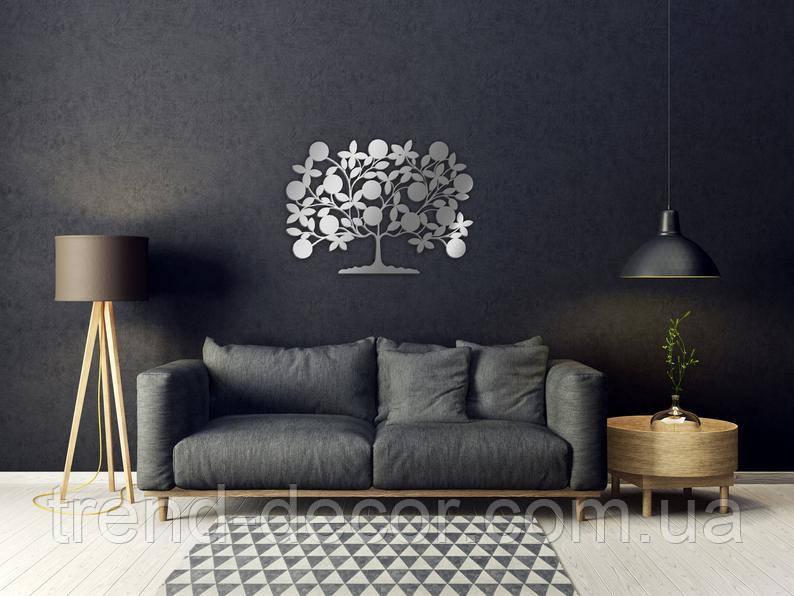 Декоративное металлическое панно Семейное древо .