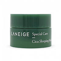 Миниатюра ночной маски с центеллой LANEIGE Cica Sleeping Mask, 10 мл