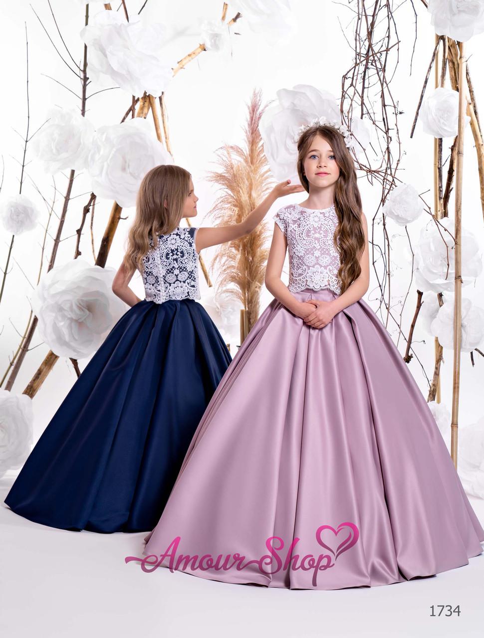 Дитяча сукня на 2-3, 4-5, 6-7, 8-9, 10-11, 12-13 років