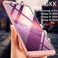 Защитный пластиковый чехол для Samsung Galaxy J6 2018 (J600) + защитное стекло, фото 1
