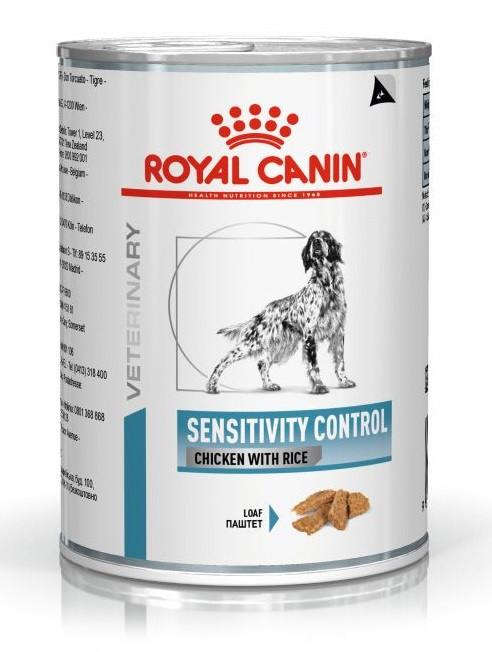 Консервы с курицей Royal Canin Sensitivity Control Chicken для собак с чувствительным пищеварением 420 г
