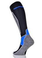 Шкарпетки лижні Spaio Merino Vigour 44-46 Black-Blue