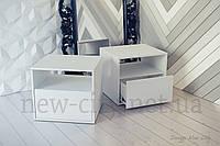 Тумба прикроватная Холи50см Белая