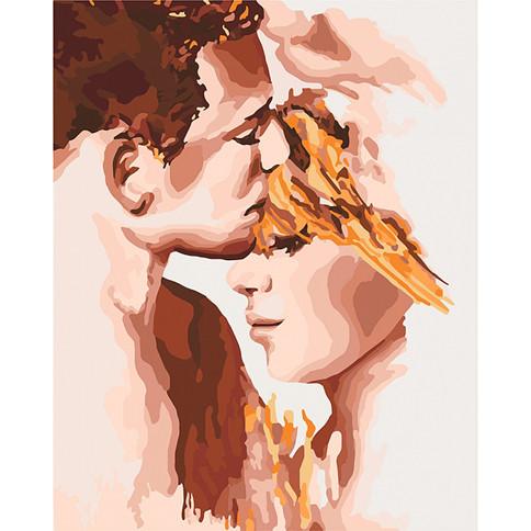 """Картина по номерам Идейка """"Идеальная пара"""" 40х50см, КНО4678"""