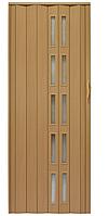 Раздвижная дверь из ПВХ 005S(светло-коричневый)