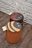 Пуф каркасный детский Пчелка (417.07), фото 2