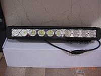 Дополнительная фара 100Вт. дальнего света LED GV 10100S - для внедорожника., фото 1