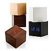 Настольные электронные часы в деревянном корпусе VST-869-1, фото 4