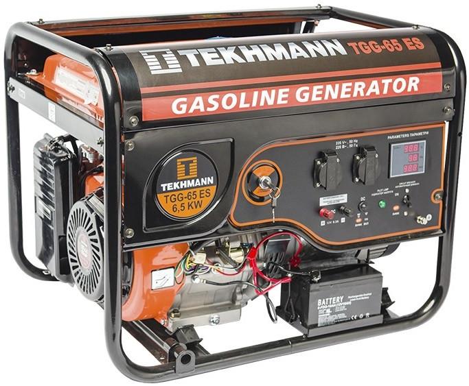 Бензиновый генератор Tekhmann TGG-65 ES (6.5 кВА)