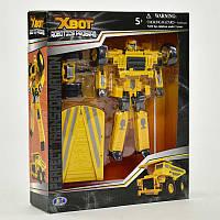 Трансформер X-Bot Грузовик Желтый