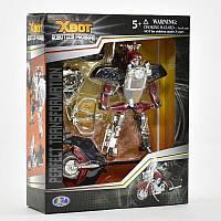 Трансформер  X-Bot Мотоцикл Красный