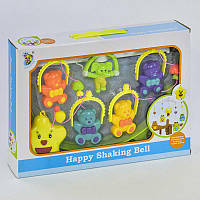 Мобиль Happy Shaking Bell Мишки D138
