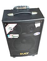 Портативная Акустика QX-1007 на аккумуляторе с радиомикрофонами (150W/USB/Bluetooth)