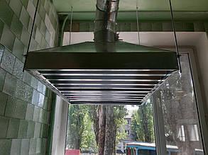 Система витяжної вентиляції кухні КЗДНЗ «ГОРОБИНКА» м. Тернівка 2
