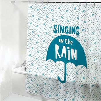 Шторка-занавеска для ванны/душа 180х180 PEVA (зонтик) HS14