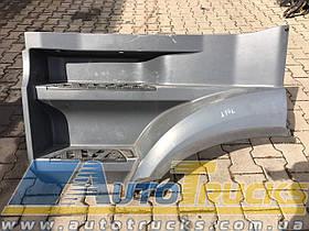 Подножка L-ЛЕВ. MP4 Б/у для Mercedes Actros (9616662201; 9616662301; 9616662401; 9616662501; 9606660002; 9606660102)