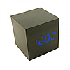 Настольные электронные часы в деревянном корпусе  VST-869, фото 10