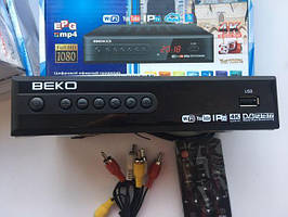 Тюнер цифровой Т2  Beko