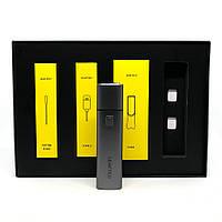 Уцінка. Пристрій для нагрівання тютюну LEAFTEC Cube Mini Grey
