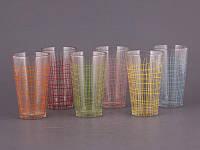 Набор стаканов 6 шт. разноцветный