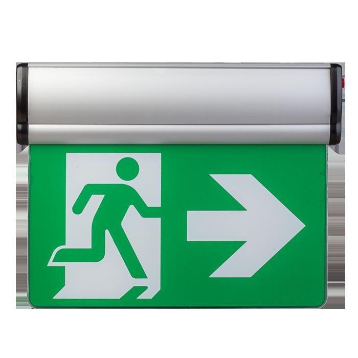 Указатель выхода аккумуляторный для аварийного освещения 220В LX-741A34