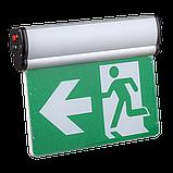 Указатель выхода аккумуляторный для аварийного освещения 220В LX-741A34, фото 2