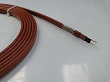 Саморегулирующийся нагревательный кабель 17 Ватт/м коричневый