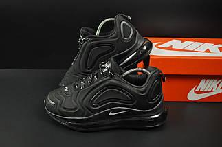 Кроссовки Nike Air Max 720 арт 20685 (черные, найк), фото 2