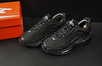 Кроссовки Nike Air Max 720 арт 20685 (черные, найк), фото 3