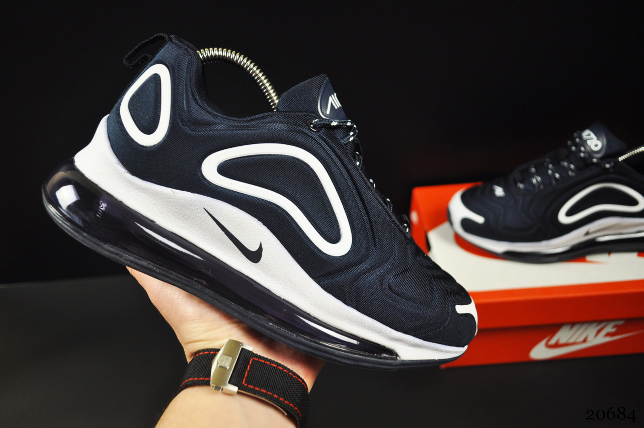 Кроссовки Nike Air Max 720 арт 20684 (синие, найк)