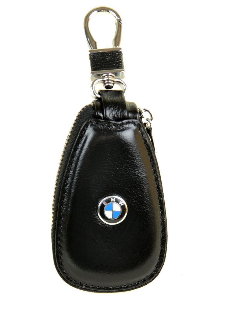 Автоключница шкіра F633 BMW black