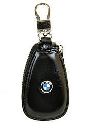 Автоключница кожа F633 BMW black
