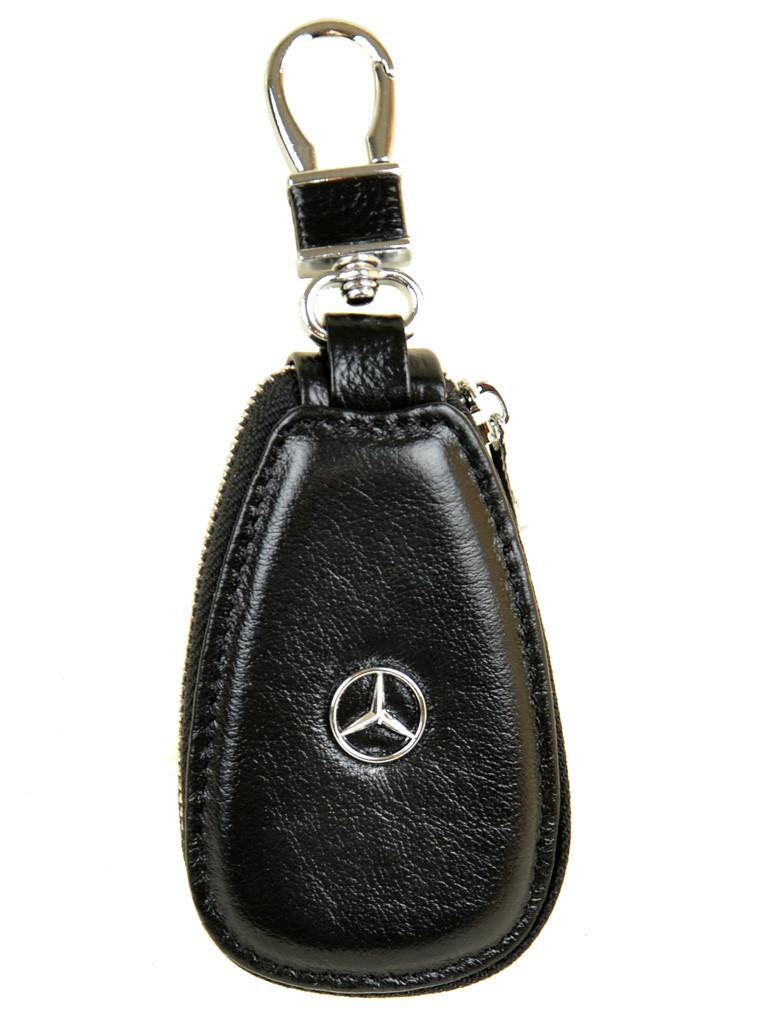 Автоключница кожа F633 Mercedes black