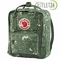Рюкзак повседневно-городской Fjallraven Kanken art Mini art 7л зеленый