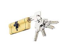 Цилиндровый механизм PALADII SP NEW 70мм (35*35) SВ желтый мат 5 ключей, фото 1